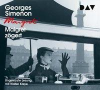 Maigret zögert, 4 Audio-CDs, Georges Simenon
