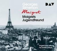 Maigrets Jugendfreund, 4 Audio-CDs, Georges Simenon