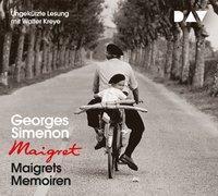 Maigrets Memoiren, 3 Audio-CDs, Georges Simenon
