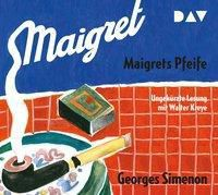 Maigrets Pfeife, 2 Audio-CDs, Georges Simenon