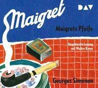 Maigrets Pfeife, 2 Audio-CDs, Georges Simenon