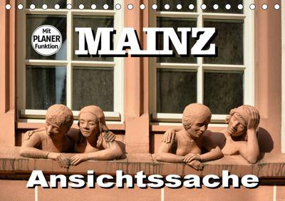 Mainz - Ansichtssache (Tischkalender 2019 DIN A5 quer), Thomas Bartruff
