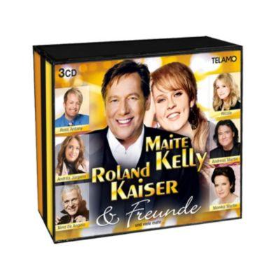 Maite Kelly, Roland Kaiser & Freunde (3 CDs)
