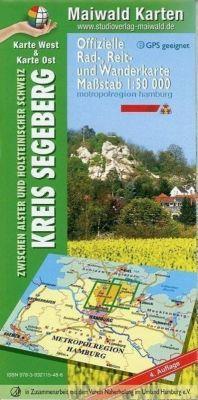 Maiwald Karte Segeberg Ost/West Offizielle Rad-, Reit- und Wanderkarte 1 : 50.000, Detlef Maiwald, Björn Maiwald