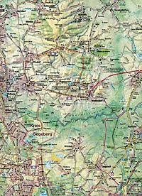 Maiwald Karte Segeberg Ost/West Offizielle Rad-, Reit- und Wanderkarte 1 : 50.000 - Produktdetailbild 1