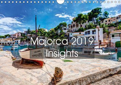 Majorca 2019 Insights (Wall Calendar 2019 DIN A4 Landscape), Juergen Seibertz