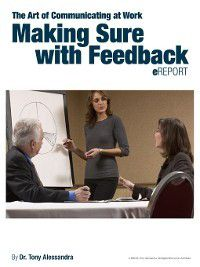 Making Sure With Feedback, Tony Alessandra