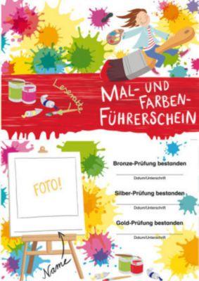 Mal- und Farben-Führerschein, Klassensatz Führerscheine, Nadine Neumann