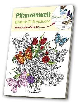 Malbuch für Erwachsene 2, Pflanzenwelt