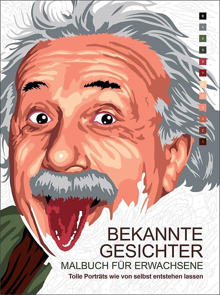 Malbuch Für Erwachsene Bekannte Gesichter Buch Weltbild De