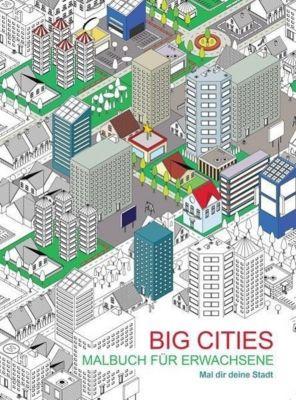 Malbuch für Erwachsene: Big Cities, Théo Mongourdin