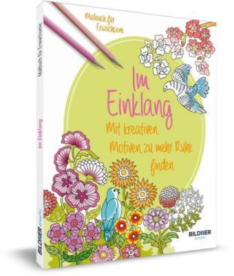 Malbuch für Erwachsene - Im Einklang