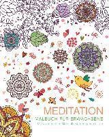 Malbuch für Erwachsene: Meditation - Autor Unbekannt |