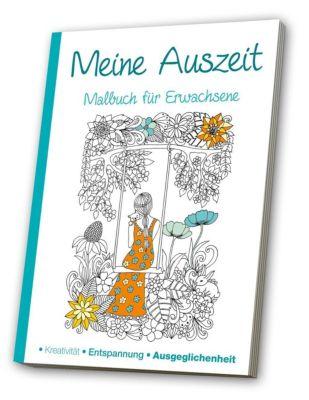 Malbuch für Erwachsene - Meine Auszeit -  pdf epub