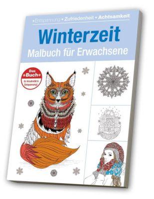 Malbuch für Erwachsene - Winterzeit