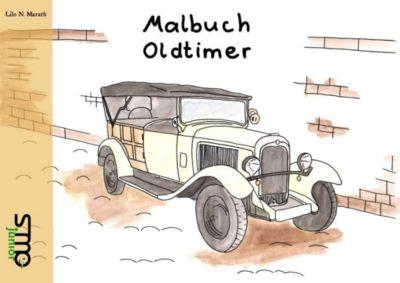 Malbuch Oldtimer, Lilo N. Marath