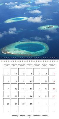 Maldives - Sun, water and beach (Wall Calendar 2019 300 × 300 mm Square) - Produktdetailbild 1