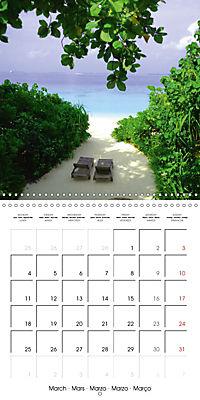 Maldives - Sun, water and beach (Wall Calendar 2019 300 × 300 mm Square) - Produktdetailbild 3