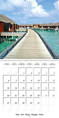 Maldives - Sun, water and beach (Wall Calendar 2019 300 × 300 mm Square) - Produktdetailbild 5