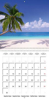 Maldives - Sun, water and beach (Wall Calendar 2019 300 × 300 mm Square) - Produktdetailbild 9