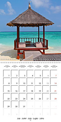 Maldives - Sun, water and beach (Wall Calendar 2019 300 × 300 mm Square) - Produktdetailbild 7