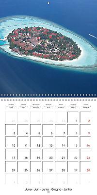 Maldives - Sun, water and beach (Wall Calendar 2019 300 × 300 mm Square) - Produktdetailbild 6