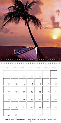 Maldives - Sun, water and beach (Wall Calendar 2019 300 × 300 mm Square) - Produktdetailbild 12