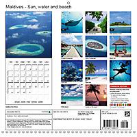 Maldives - Sun, water and beach (Wall Calendar 2019 300 × 300 mm Square) - Produktdetailbild 13