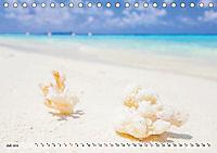 Malediven - Traumhaftes Paradies im Indischen Ozean (Tischkalender 2019 DIN A5 quer) - Produktdetailbild 3