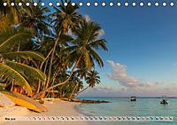 Malediven - Traumhaftes Paradies im Indischen Ozean (Tischkalender 2019 DIN A5 quer) - Produktdetailbild 5