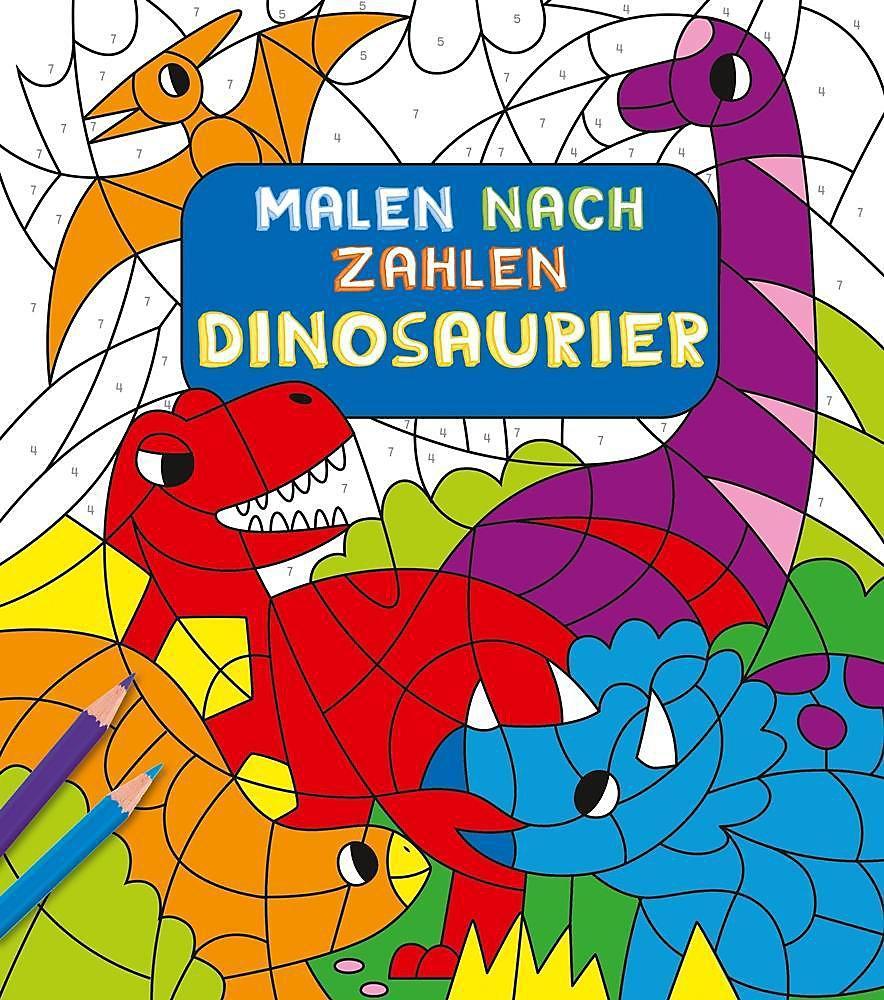 Malen Nach Zahlen Für Kinder Dinosaurier Buch Weltbildde