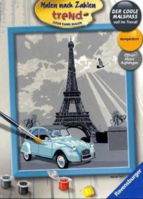 Malen nach Zahlen - Jeder kann malen (Mal-Sets), Bildgrösse: 24 x 30 cm: Paris