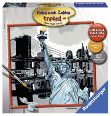 Malen nach Zahlen - Jeder kann malen (Mal-Sets): New York