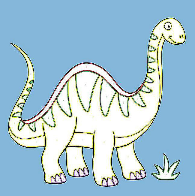 Malen Nach Zahlen Junior Dinos Buch Bei Weltbildde Bestellen
