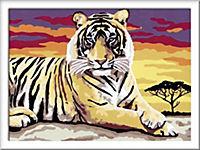 Malen nach Zahlen. Majestätischer Tiger - Produktdetailbild 2