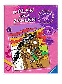 Malen nach Zahlen: Pferde - Produktdetailbild 1