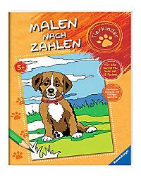 Malen nach Zahlen: Tierkinder - Produktdetailbild 1
