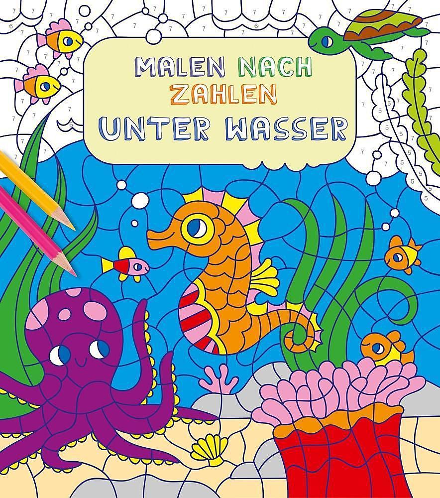 Malen Nach Zahlen Unter Wasser Buch Bei Weltbildde Bestellen