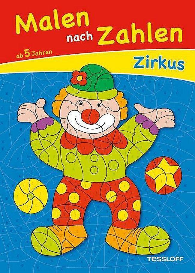 Malen Nach Zahlen Zirkus Buch Bei Weltbildde Online Bestellen