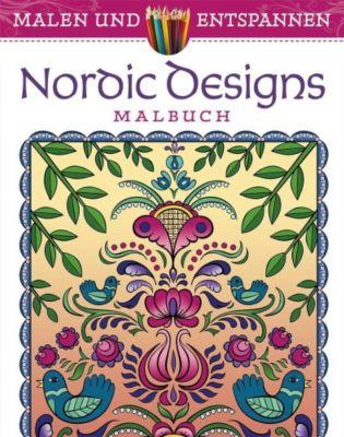Malen und entspannen: Nordic Design - Jessica Mazurkiewicz |