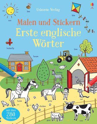 Malen und Stickern: Erste englische Wörter, Kirsteen Robson