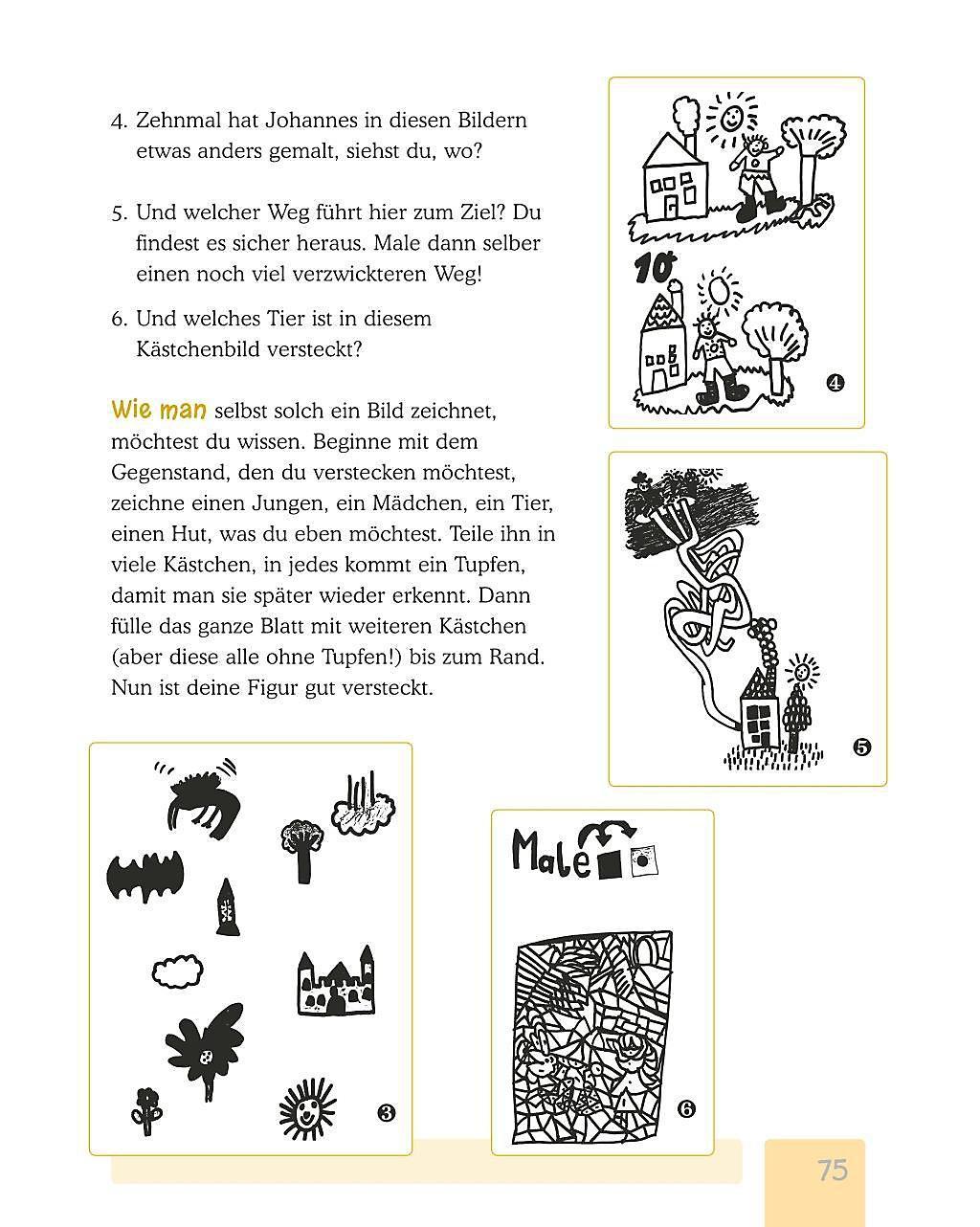 Malen Zeichnen Kleben 100 Vorschlage Fur Kreativen Spass Buch