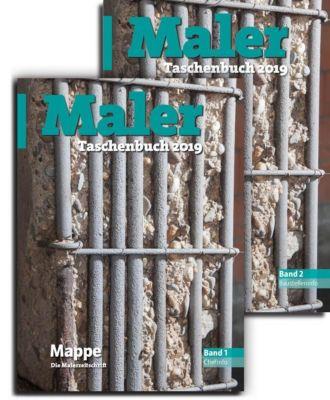 Maler-Taschenbuch 2019, 2 Bde.