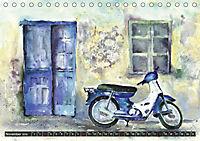 Malerische Dorfansichten in Aquarell (Tischkalender 2019 DIN A5 quer) - Produktdetailbild 11