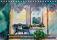 Malerische Dorfansichten in Aquarell (Tischkalender 2019 DIN A5 quer) - Produktdetailbild 10