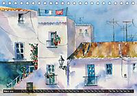 Malerische Dorfansichten in Aquarell (Tischkalender 2019 DIN A5 quer) - Produktdetailbild 3