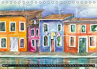 Malerische Dorfansichten in Aquarell (Tischkalender 2019 DIN A5 quer) - Produktdetailbild 5