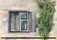 Malerische Dorfansichten in Aquarell (Tischkalender 2019 DIN A5 quer) - Produktdetailbild 2