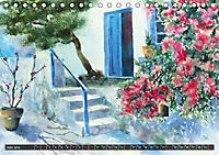 Malerische Dorfansichten in Aquarell (Tischkalender 2019 DIN A5 quer) - Produktdetailbild 6