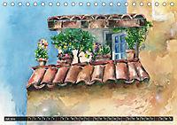 Malerische Dorfansichten in Aquarell (Tischkalender 2019 DIN A5 quer) - Produktdetailbild 7